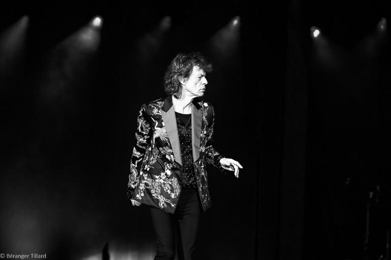 Le chanteur Mick Jagger