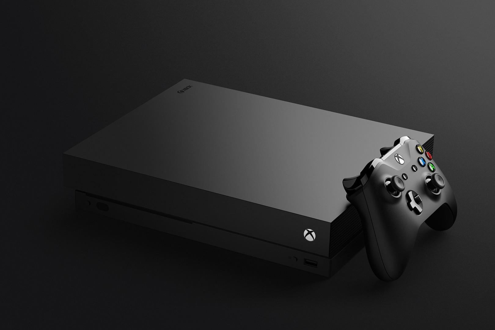 La XBox One X se targue quant à elle d'être la console la plus puissante du marché (499 €)