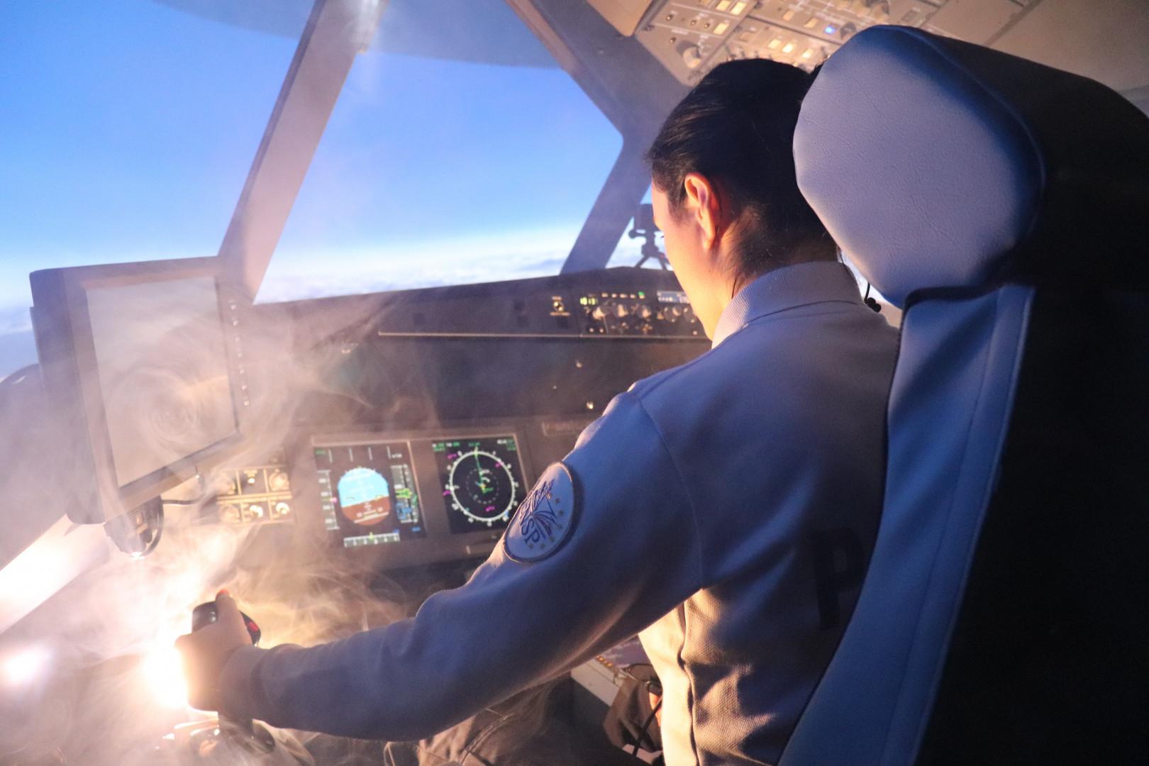 Pour former ses futurs commissaires, l'École nationale supérieure de la Police a décidé de faire appel à un centre de simulateurs d'avions
