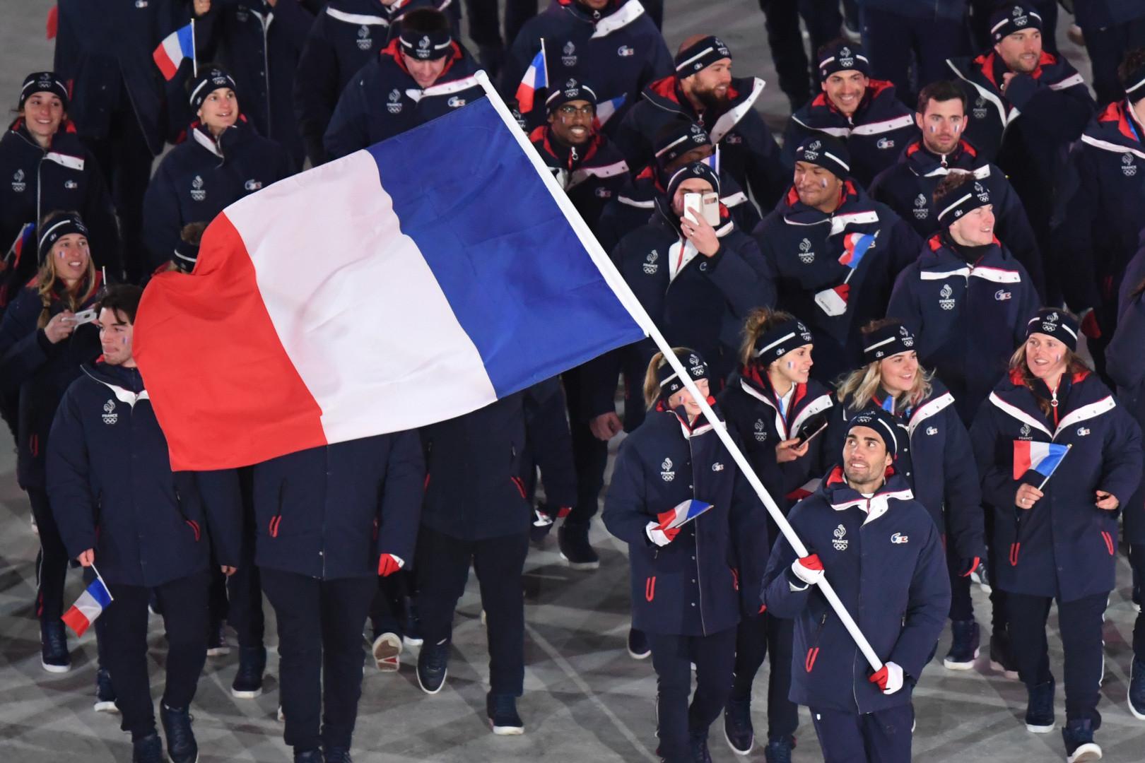 Martin Fourcade, porte-drapeau fier et ému de la délégation française