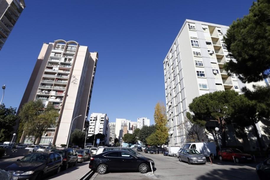 Le quartier des Moulins, à Nice