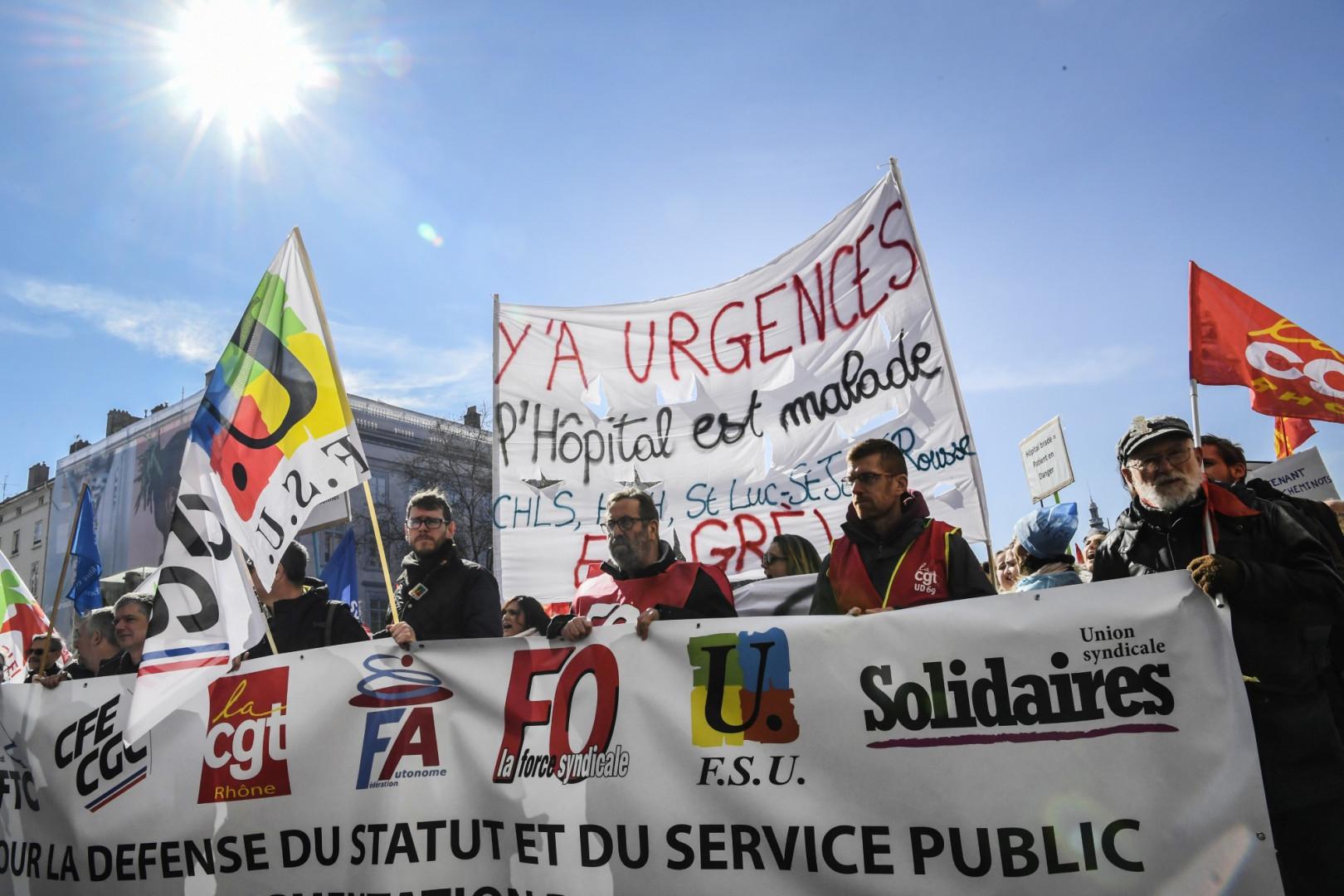Manifestation à Lyon jeudi 22 mars