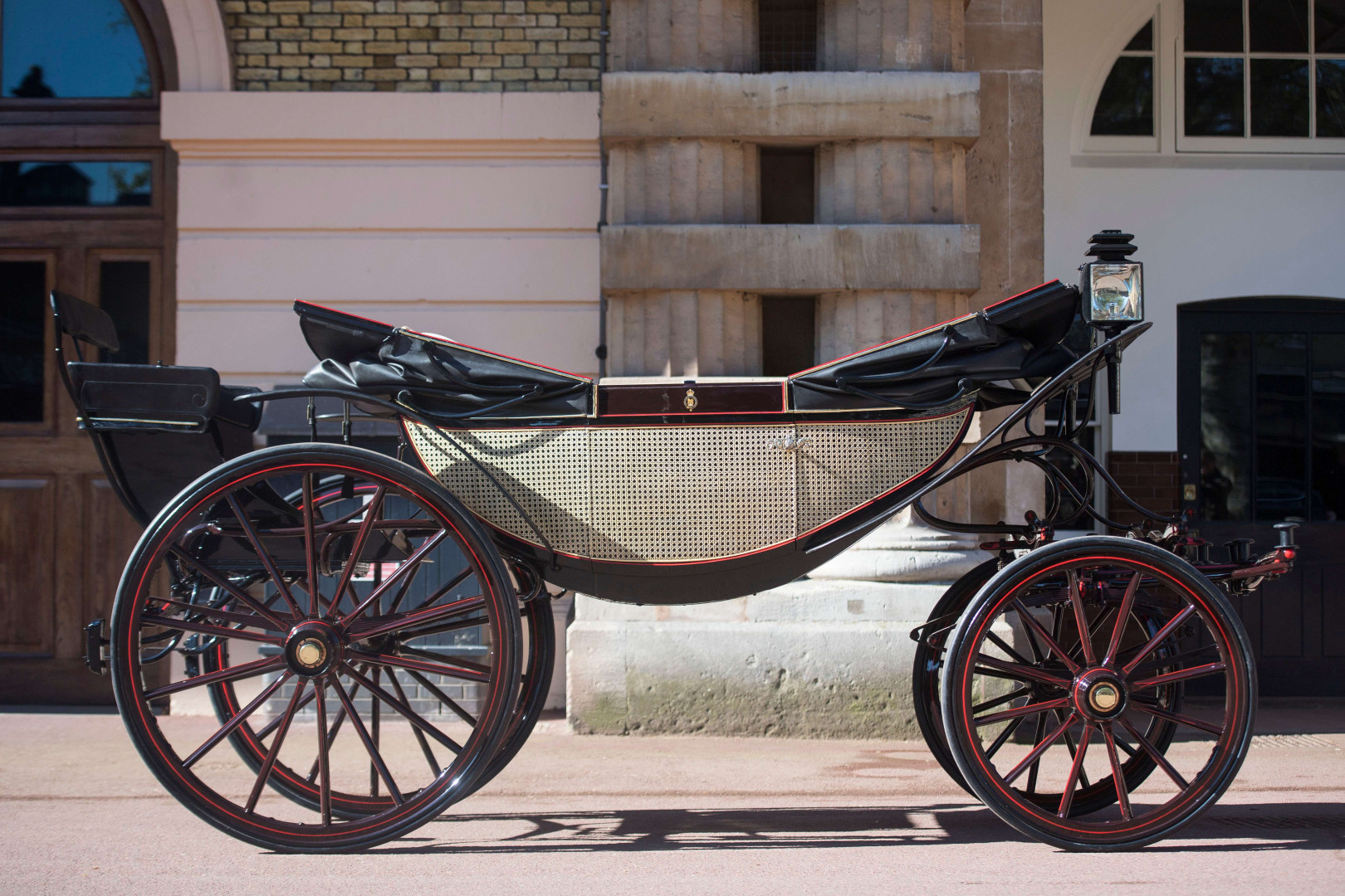 L'Ascot Landau, carrosse ouvert et favori du couple Meghan et Harry