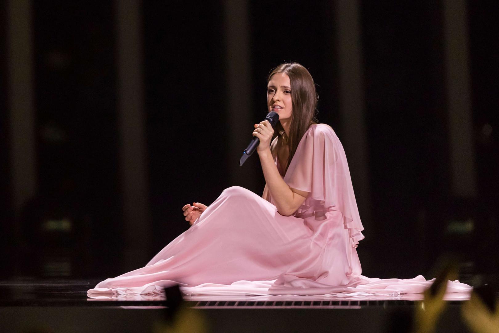 Ieva Zasimauskaite (Lituanie) est qualifiée pour la finale de l'Eurovision 2018
