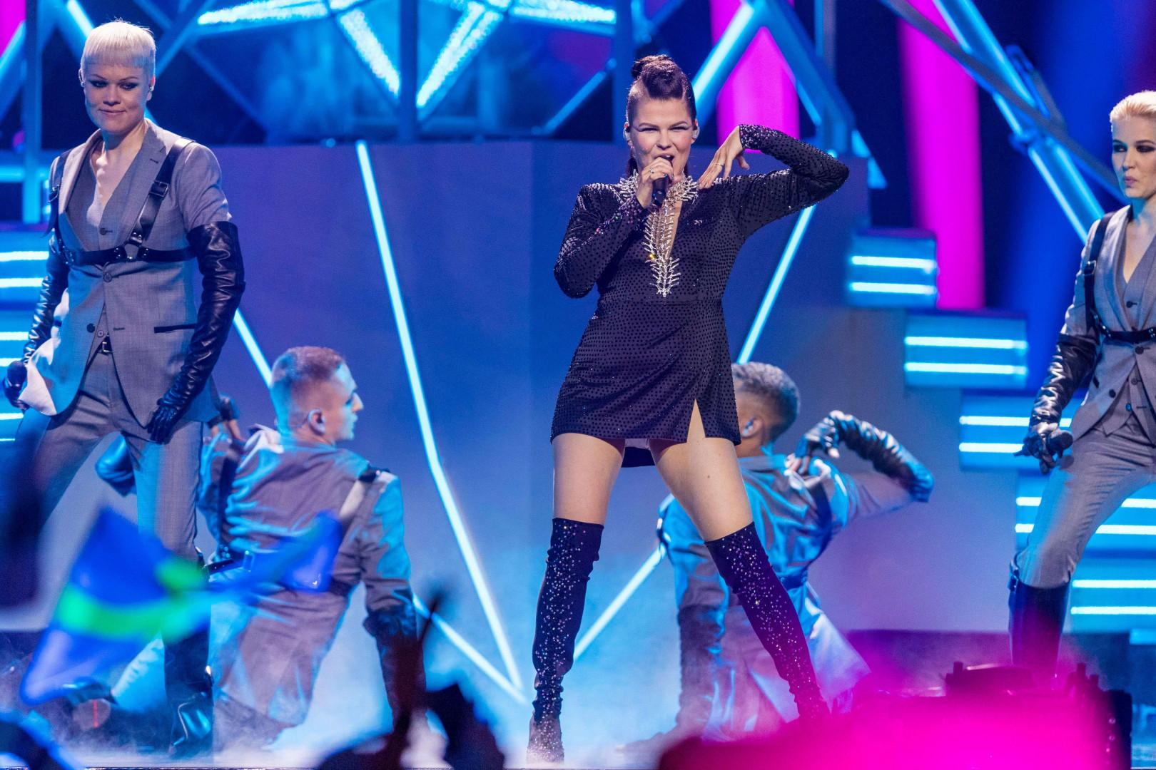 Saara Aalto (Finlande) est qualifiée pour la finale de l'Eurovision 2018