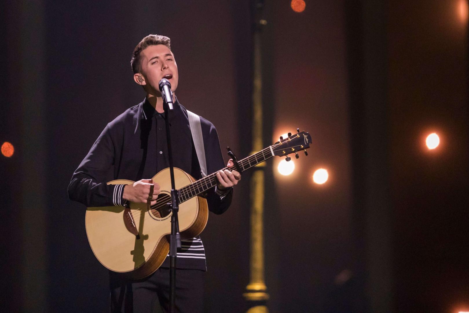 Ryan O'Shaughnessy (Irlande) est qualifié pour la finale de l'Eurovision 2018
