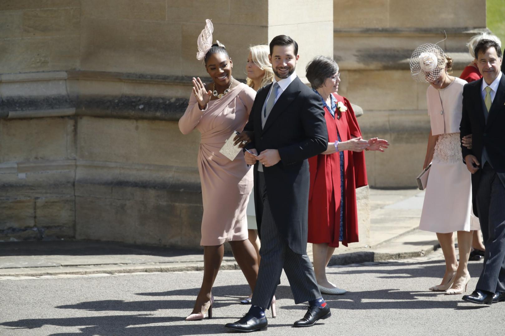 Les amis de Meghan Markle, la championne de tennis Serena Williams et son époux, Alexis Ohanian