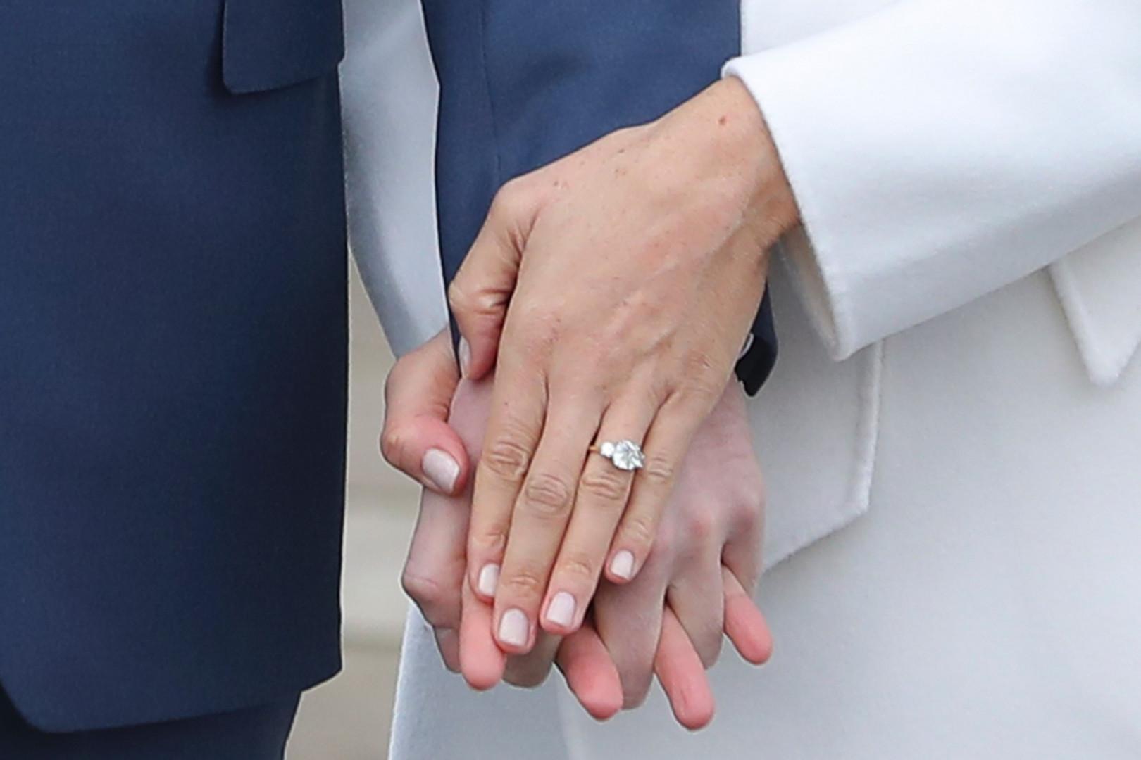 Le couple a dévoilé l'alliance de Meghan Markle dessinée par le prince