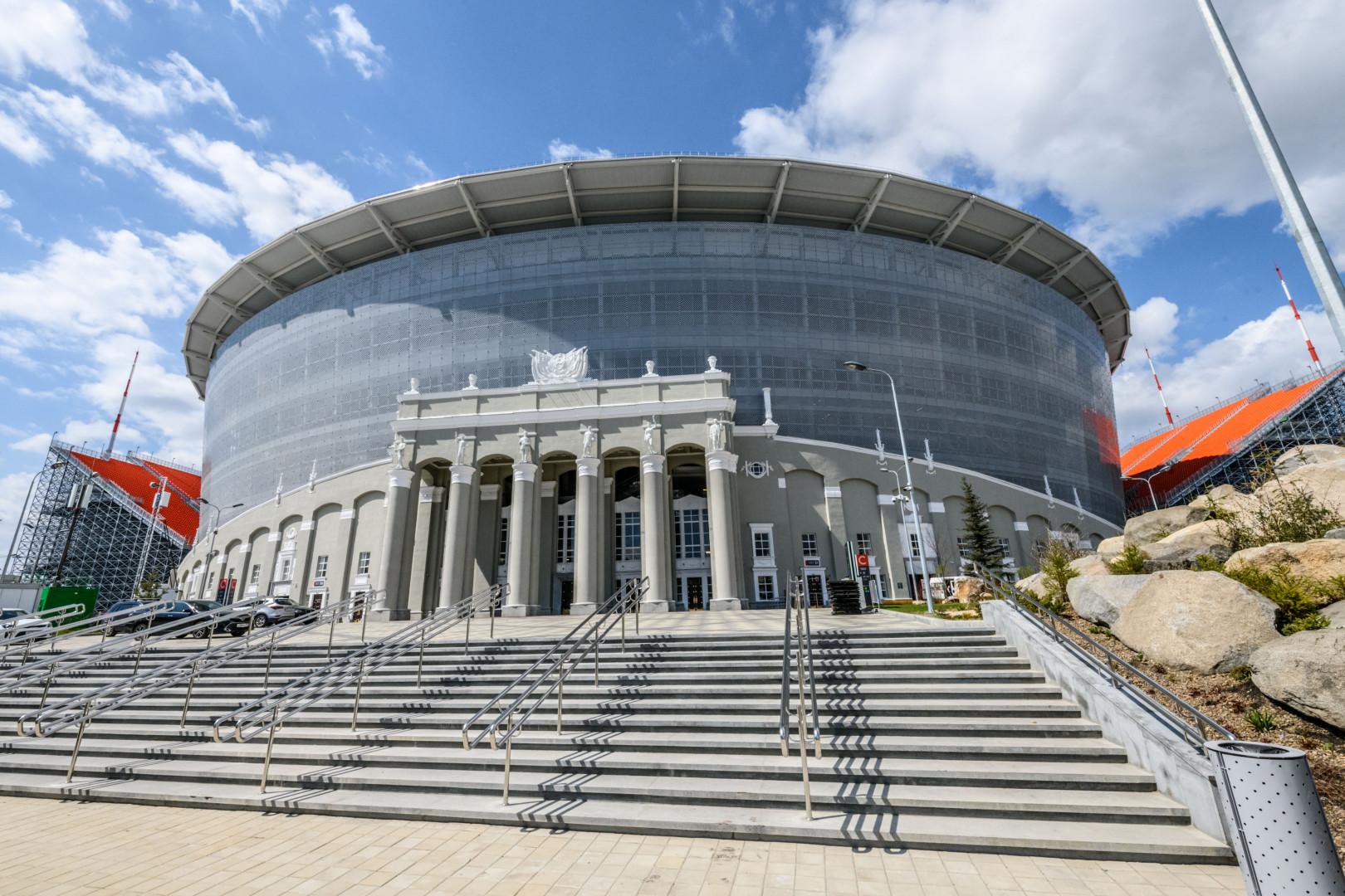 Inaugurée en 1957, l'Ekaterinbourg Arena (35.000 places) est une perle de l'architecture soviétique