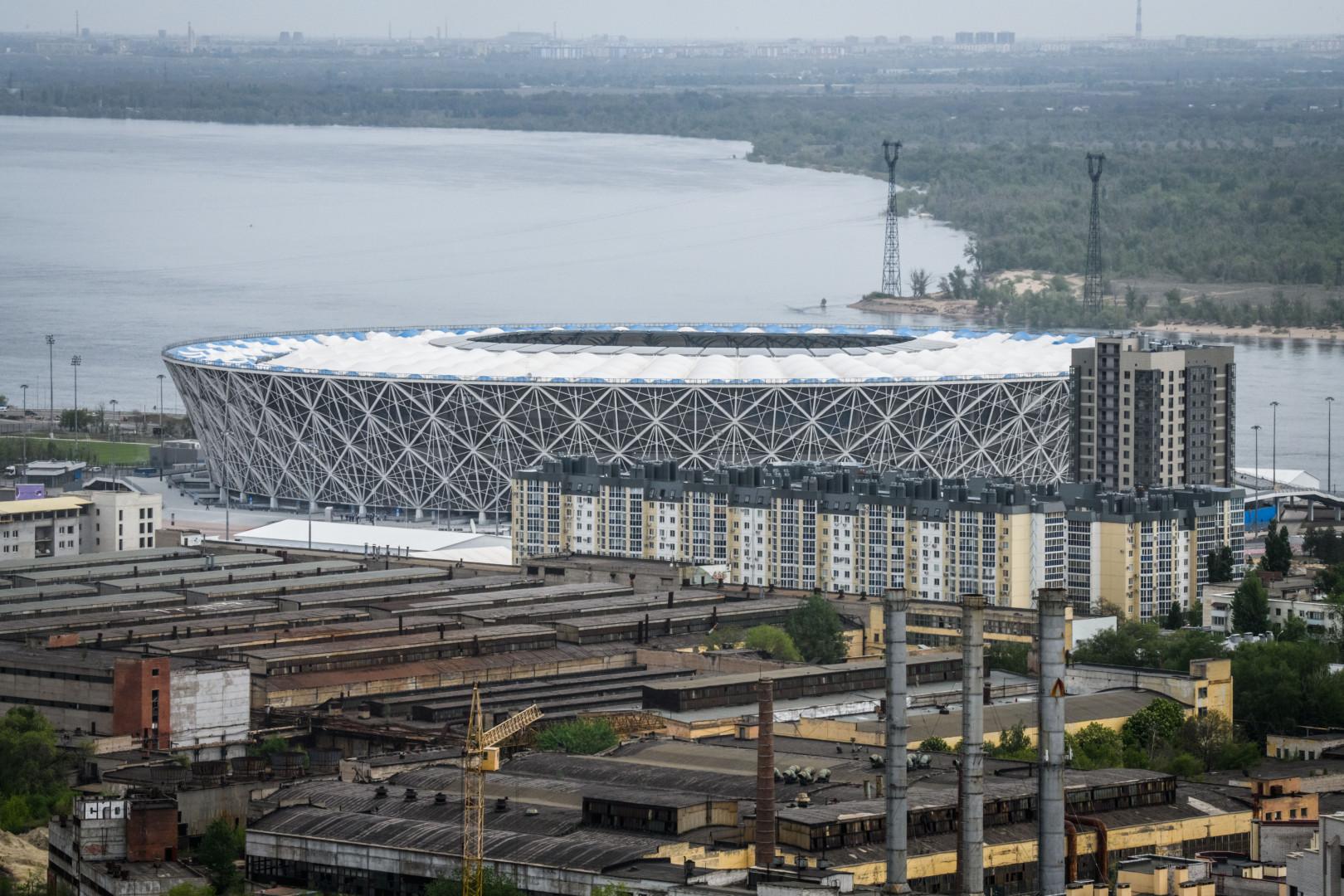 Architecturalement proche du Nid d'oiseau de Pékin, la Volgograd Arena accueillera quatre matches du 1er tour