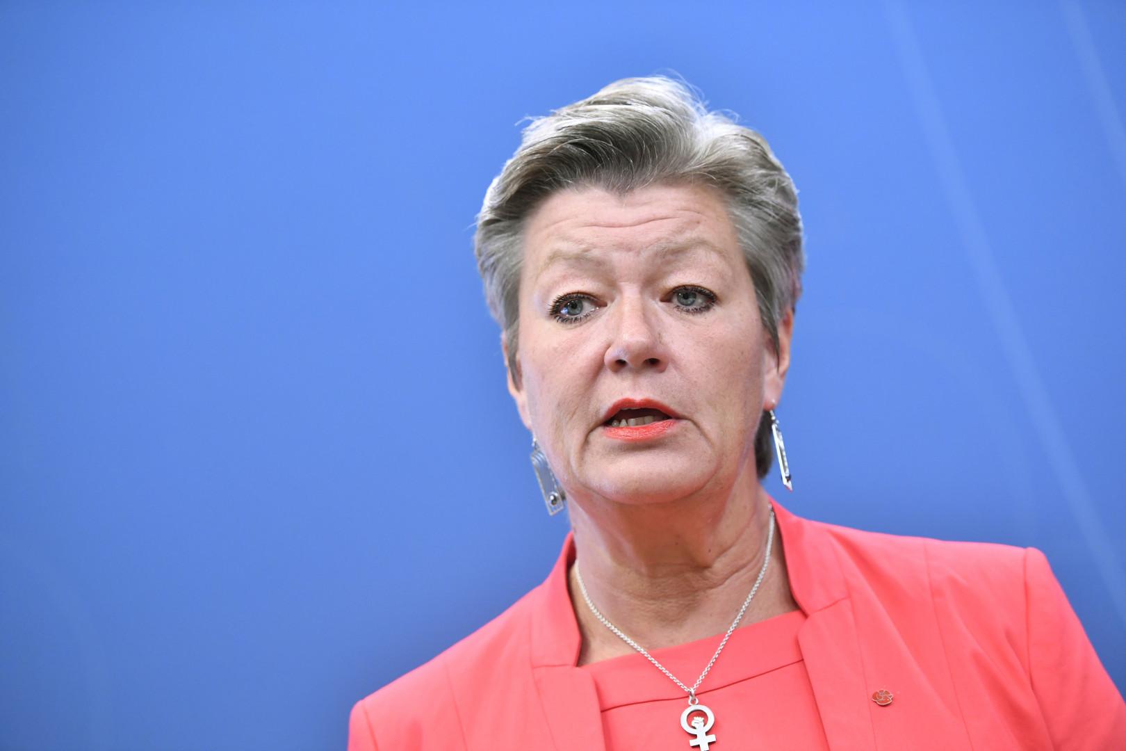 La social-démocrate suédoise Ylva Johansson est chargée des Affaires intérieures