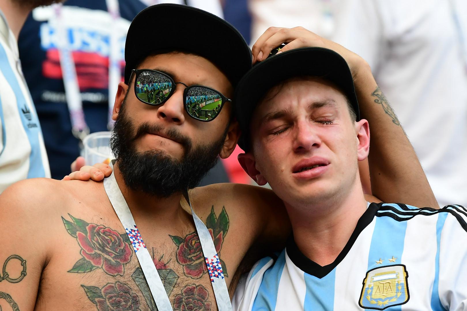 Le 30 juin, l'émotion était forte pour l'Argentine. Non seulement l'équipe n'a pas pu se qualifier contre la France, mais ses supporters ont pleuré la probable dernière opportunité pour Lionel Messi de remporter la Coupe du Monde.