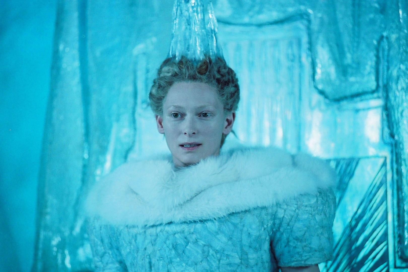"""""""Le Monde de Narnia"""" (2005). Saga de fantasy avec la grande Tilda Swinton en mémorable Reine Blanche."""