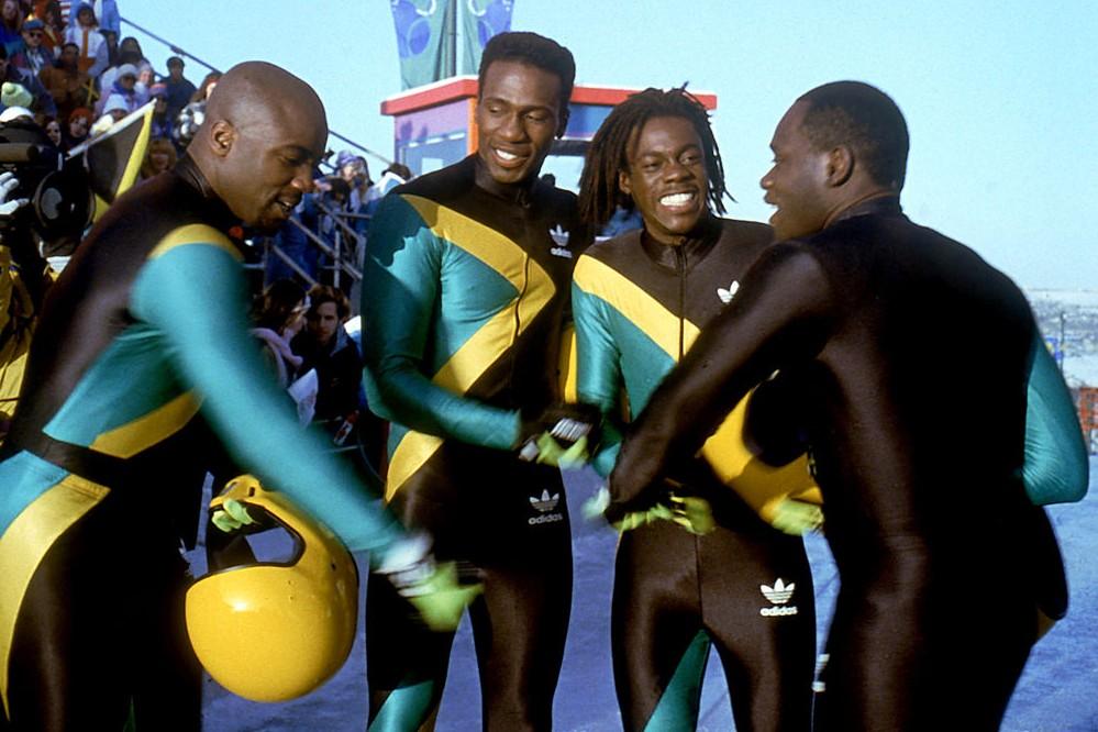 """""""Rasta Rockett"""" (1994). ambiance vintage pour cette comédie américaine qui mêle la Jamaïque au bobsleigh."""