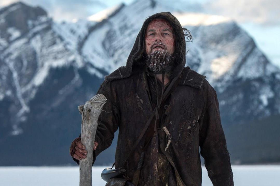 """""""The Revenant"""" (2015). Le film 100% hiver rude qui a enfin offert l'Oscar du meilleur acteur à Leonardo DiCaprio."""