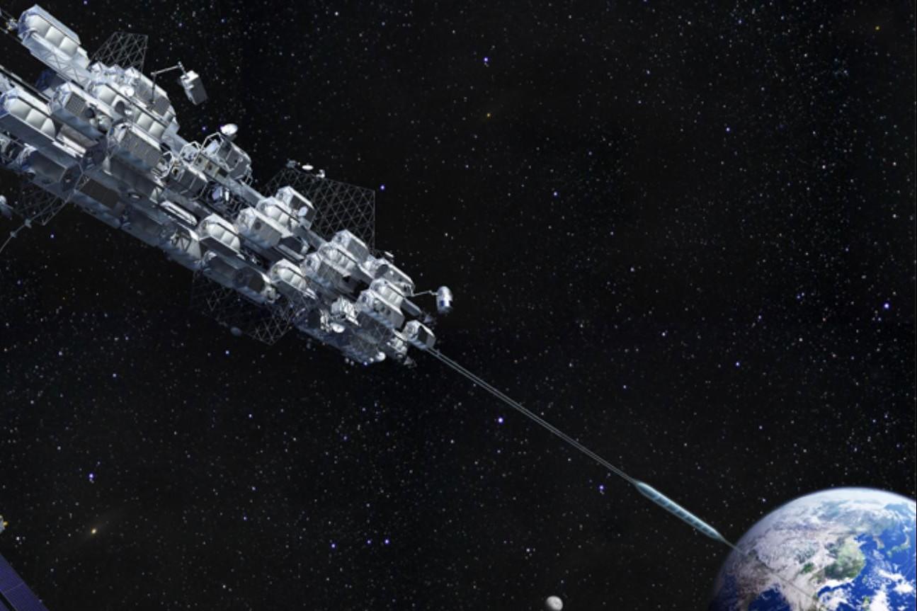 Les capsules de l'ascenseur feront l'aller-retour entre la Terre et le port géostationnaire