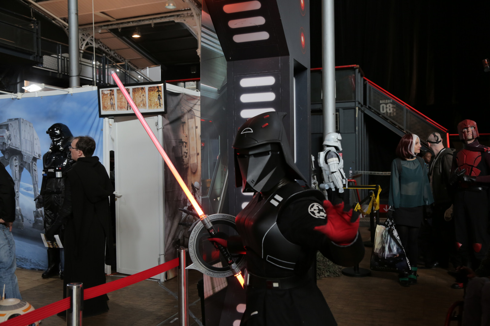 L'univers Star Wars est aussi présent grâce à la Garnison 501