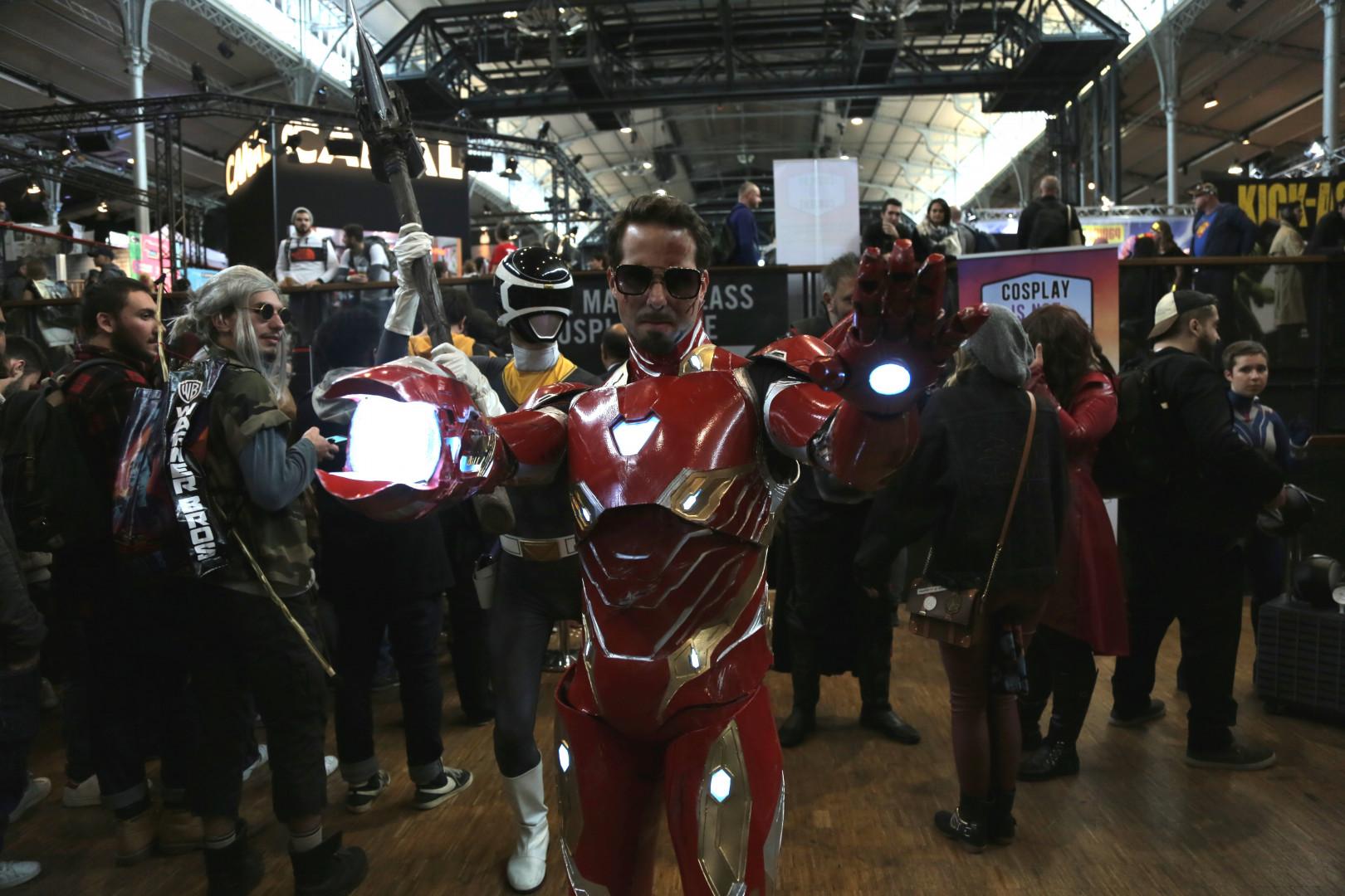 Iron Man et Black Ranger