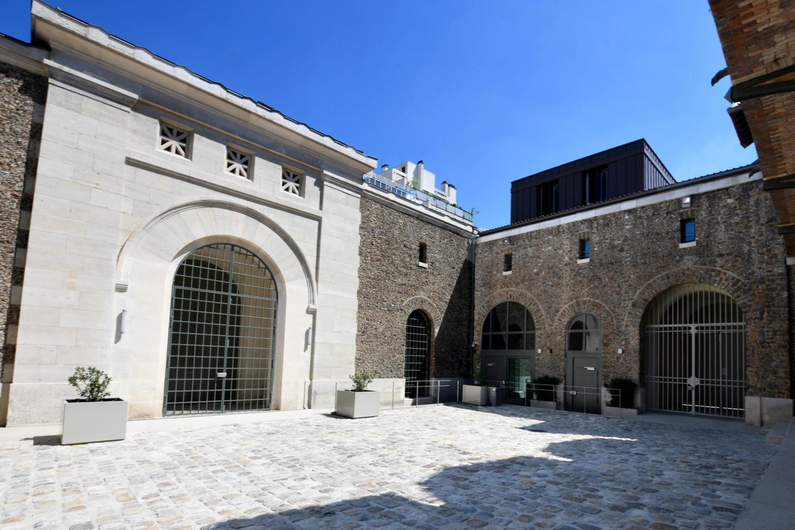 L'entrée de la prison de la Santé à Paris, fermée depuis 2014 pour rénovation