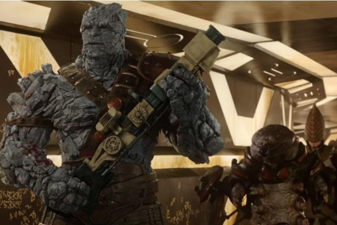 """Korg et Miek dans """"Thor : Ragnarok"""""""