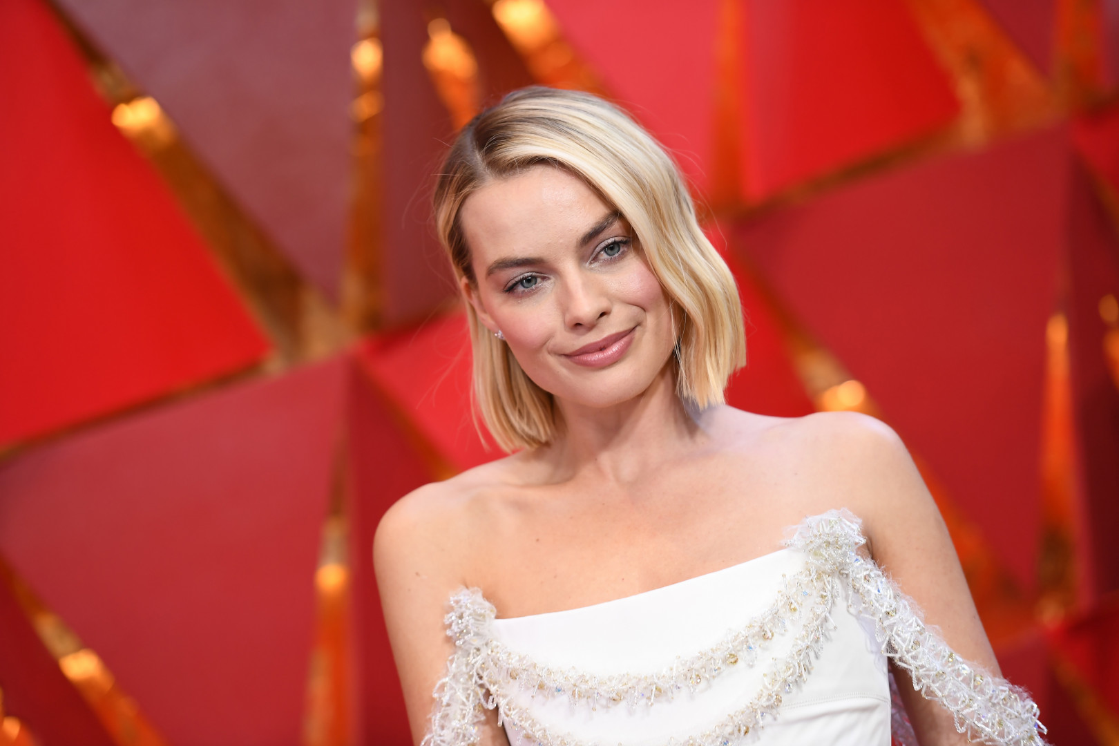 """L'actrice Margot Robbie joue dans """"Once Upon a Time... in Hollywood"""" de Quentin Tarantino"""