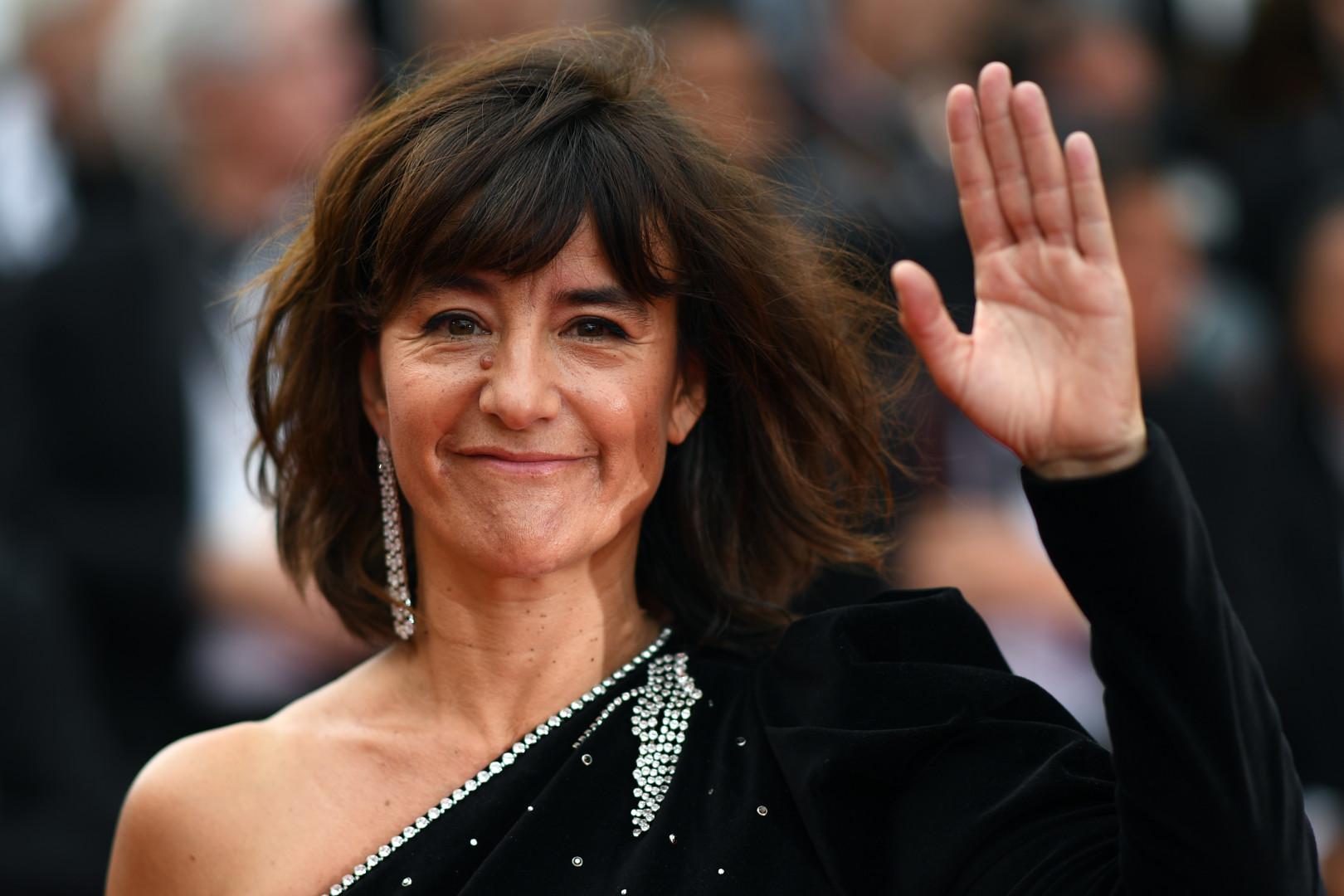 Festival de Cannes 2019 : l'actrice française Romane Bohringer, tout sourire