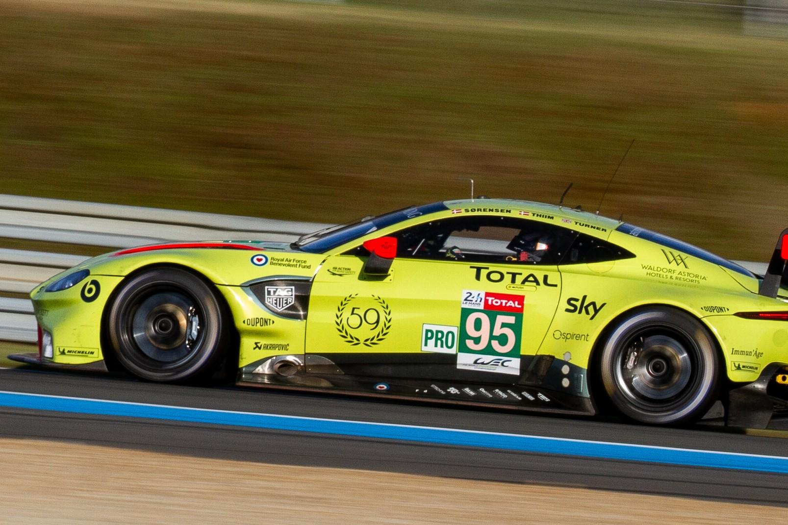 Aston Martin aux 24 Heures du Mans 2019
