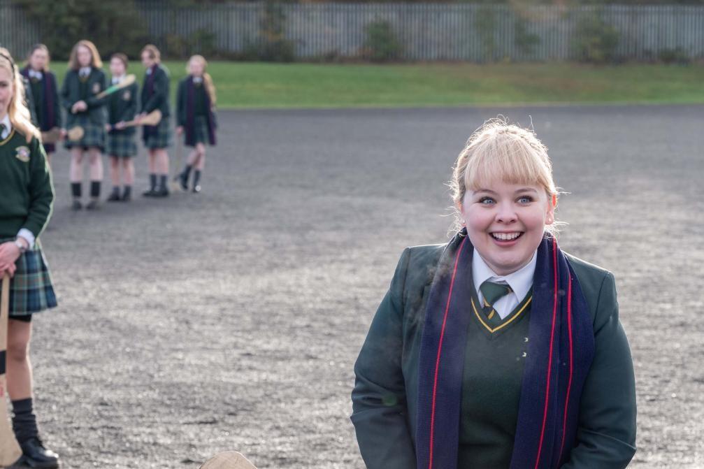 """... """"Derry Girls"""", une comédie où elle joue Clare Devlin"""