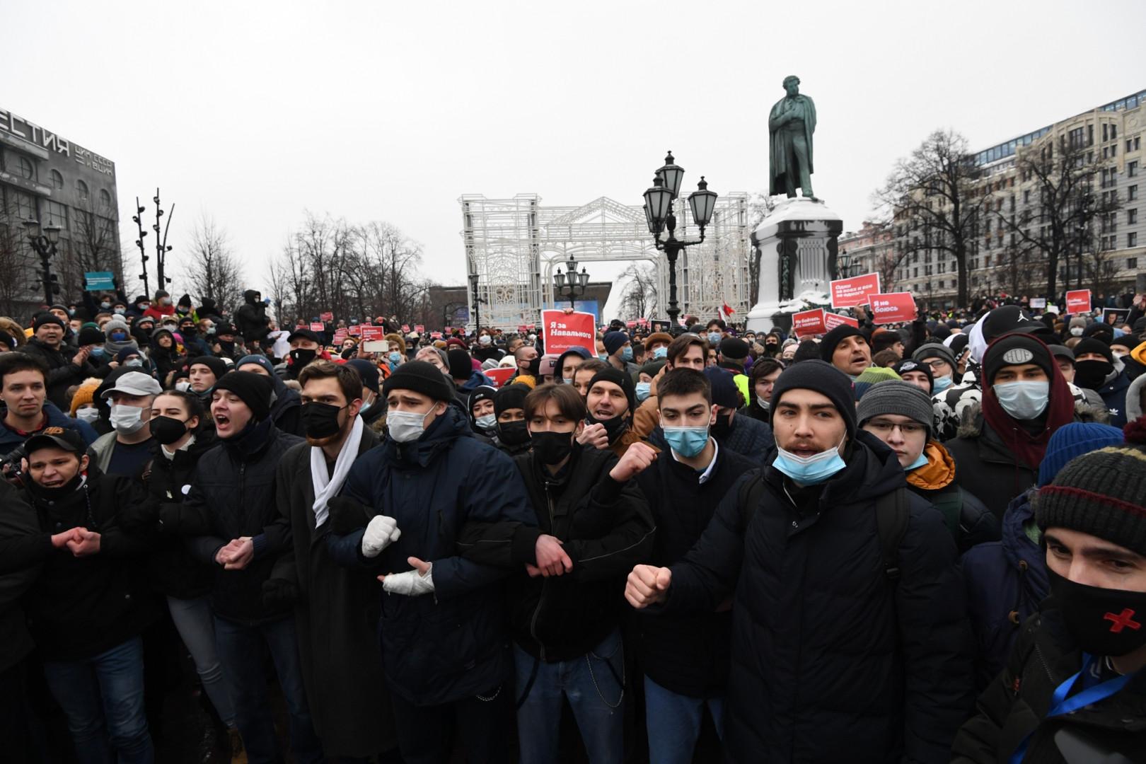 Manifestation en Russie