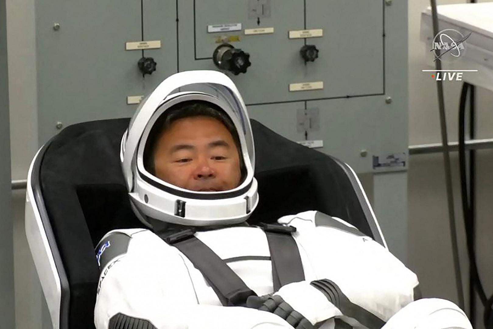 3. Le Japonais Akihiko Hoshide