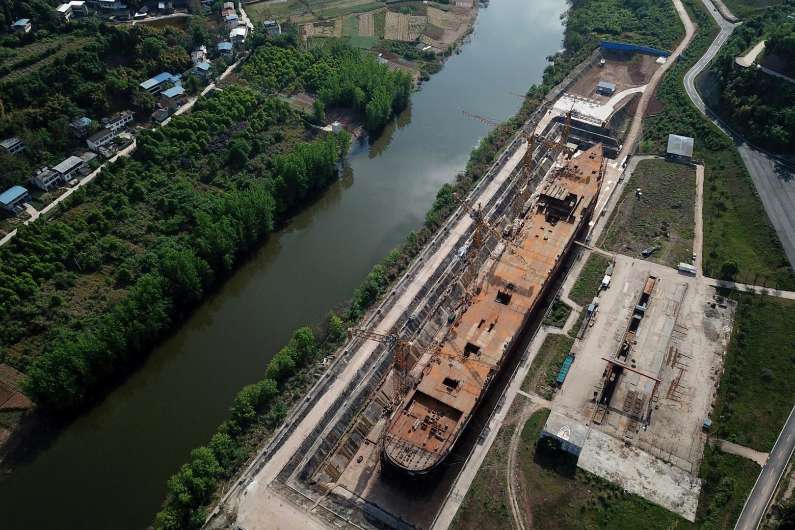 Ce projet aura coûté 10 milliards de yuans, soit 1,2 milliard d'euros.