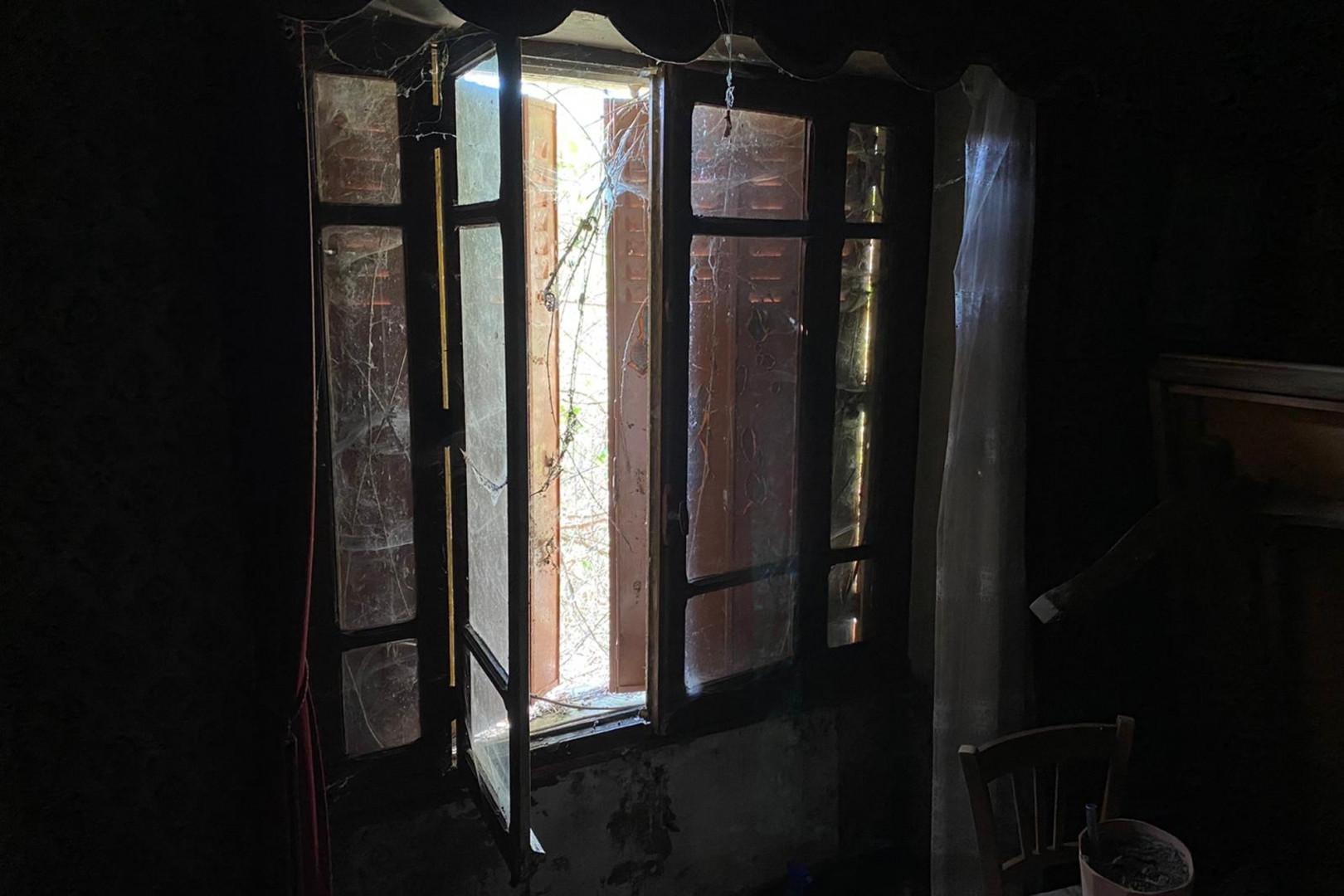 La maison était abandonnée depuis près de 8 ans.