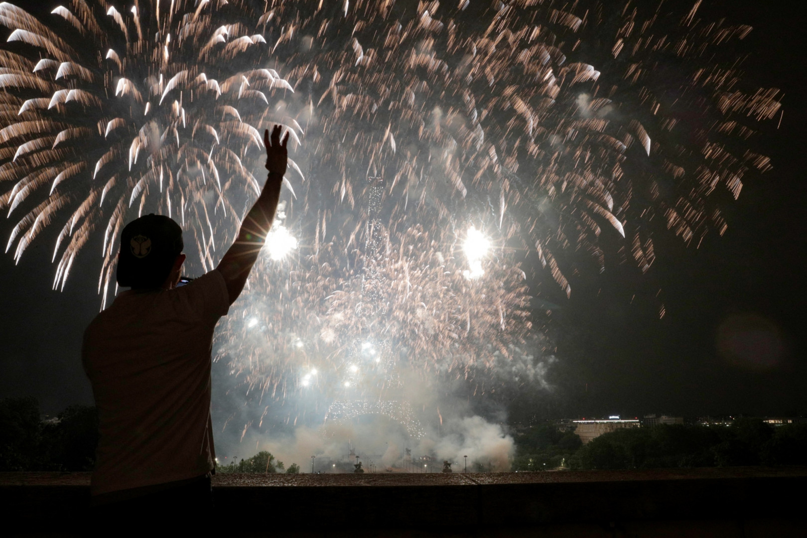 Le feu d'artifice du 14 juillet est un évènement incontournable pour les Français.