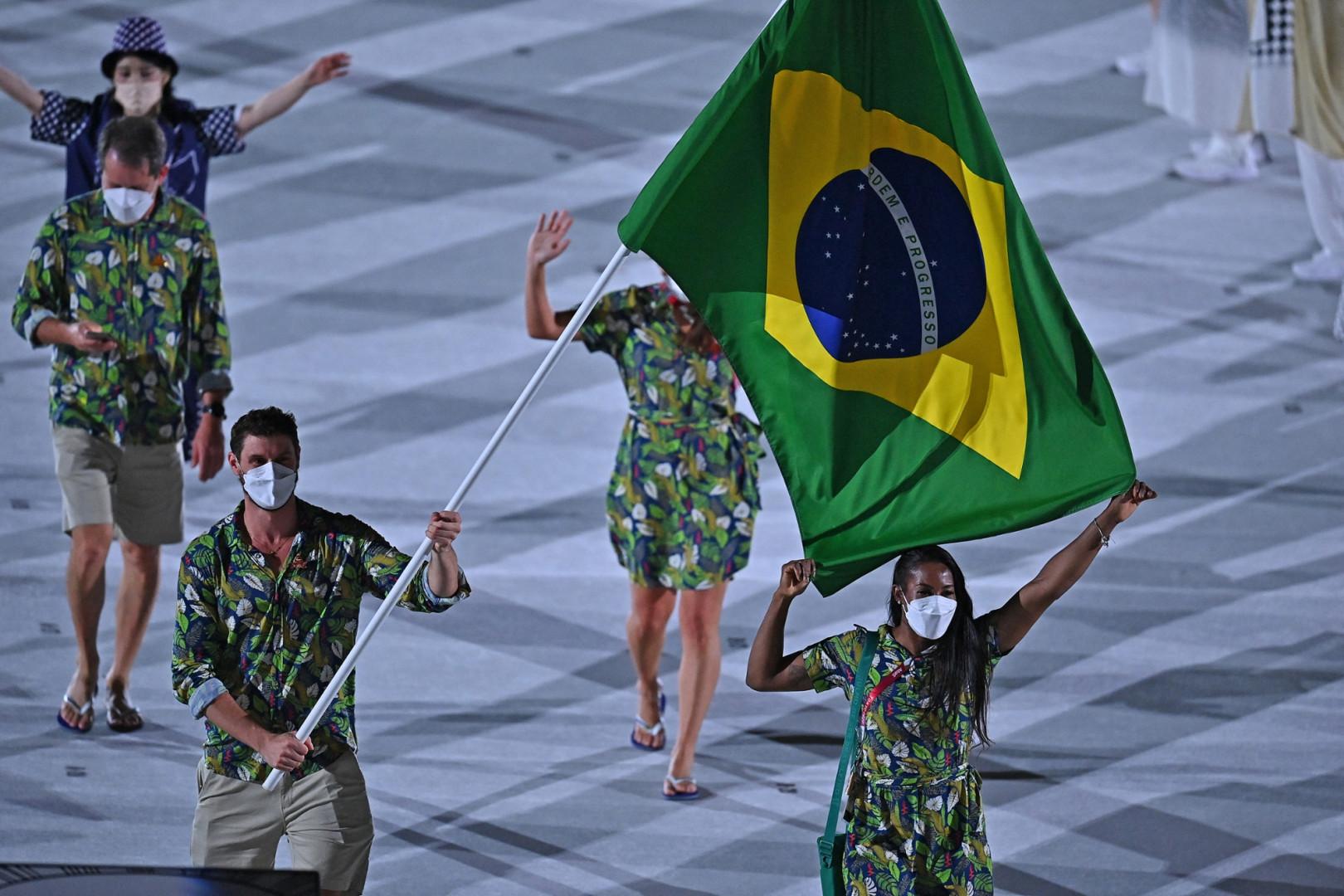 La délégation brésilienne à Tokyo