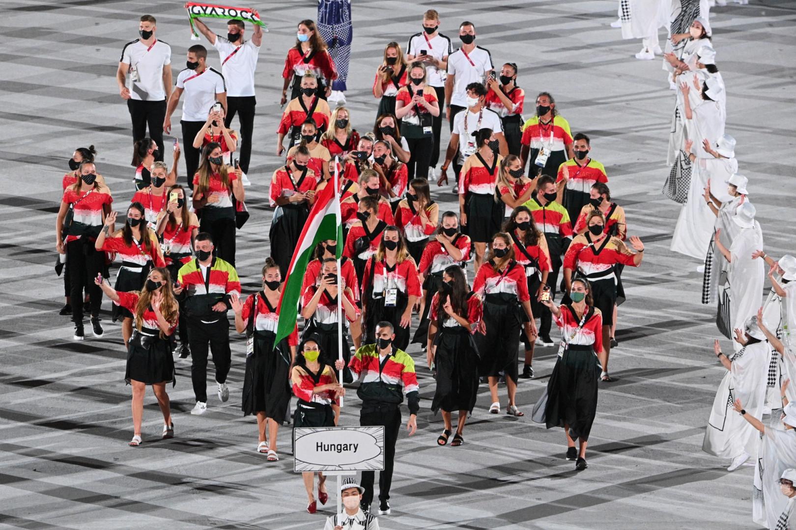 La délégation hongroise