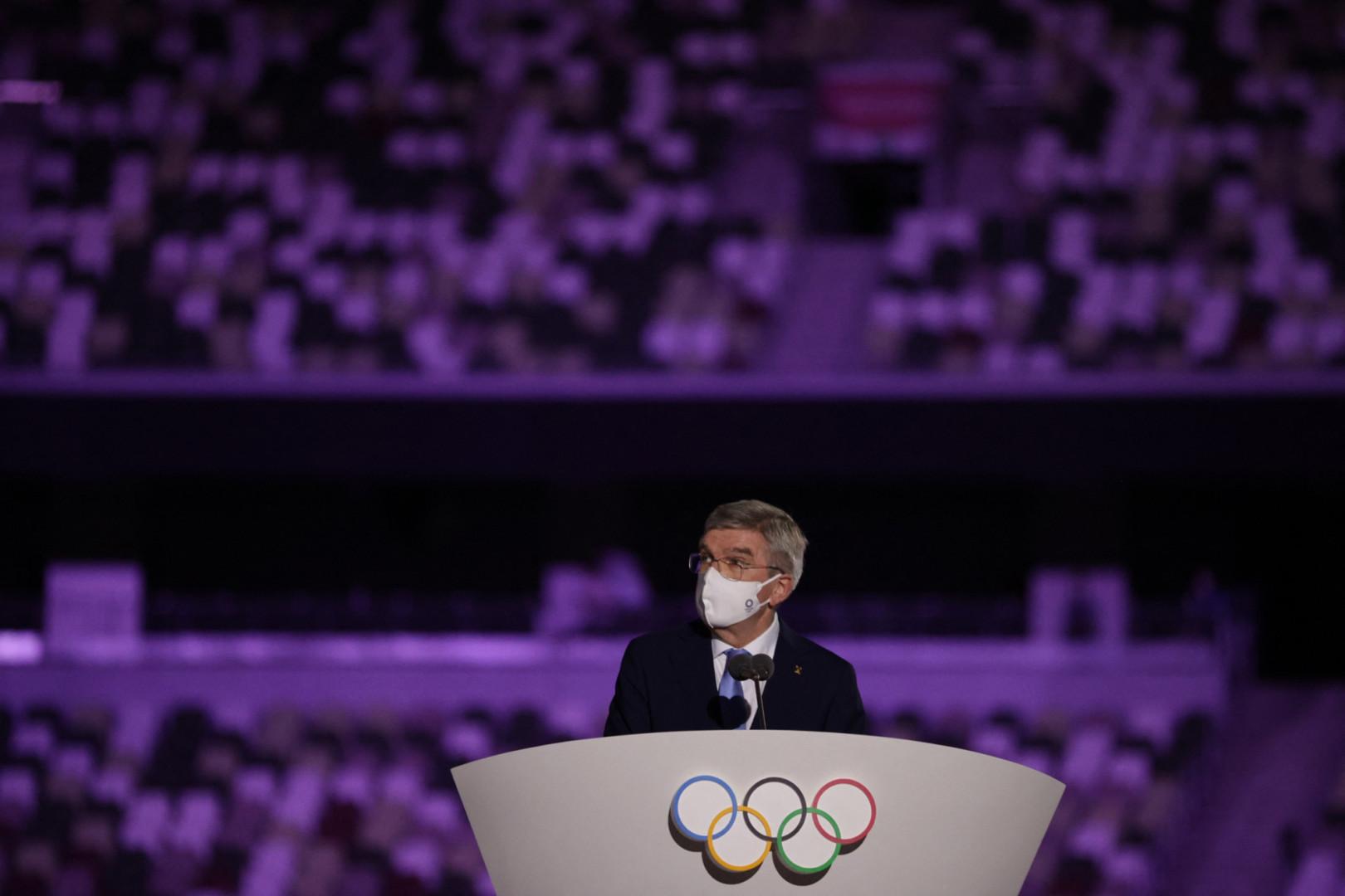 Thomas Bash, le président du Comité international olympique