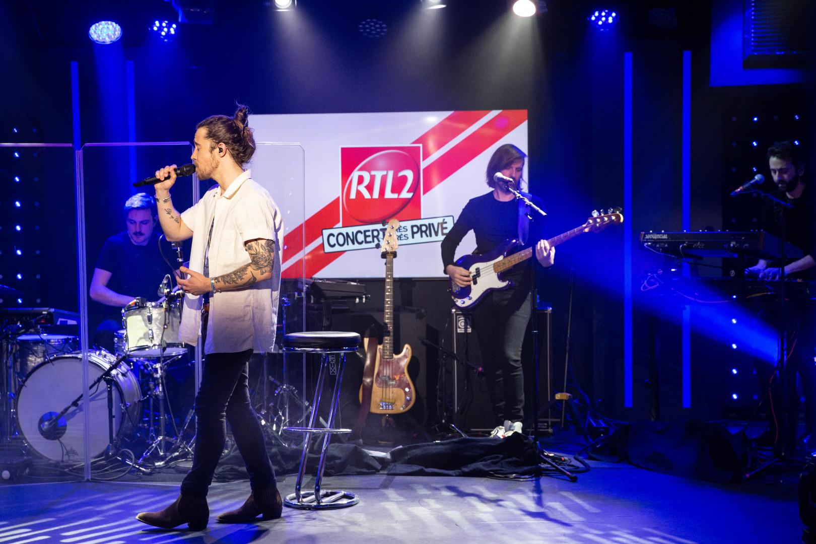 Julien Doré en Concert Très Très Privé RTL2 (05/02.21)
