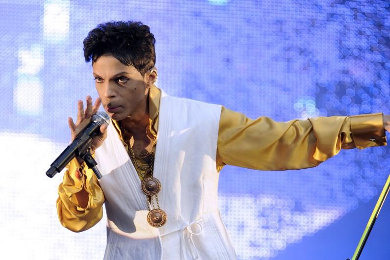 Prince au Stade de France en juin 2011