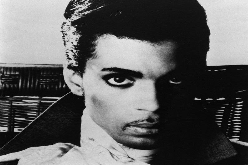 Prince en août 1986