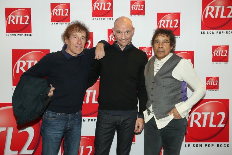 Alain Souchon, Laurent Voulzy & Gaëtan Roussel