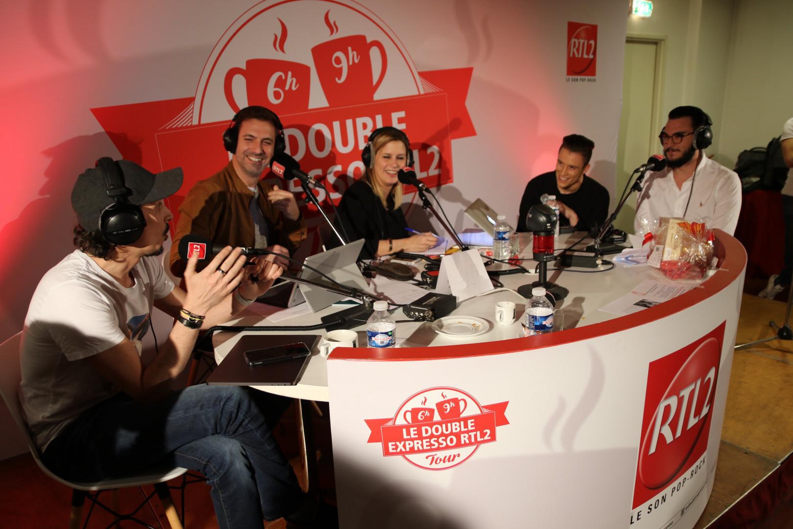 Le Double Expresso RTL2 en direct de Perpignan