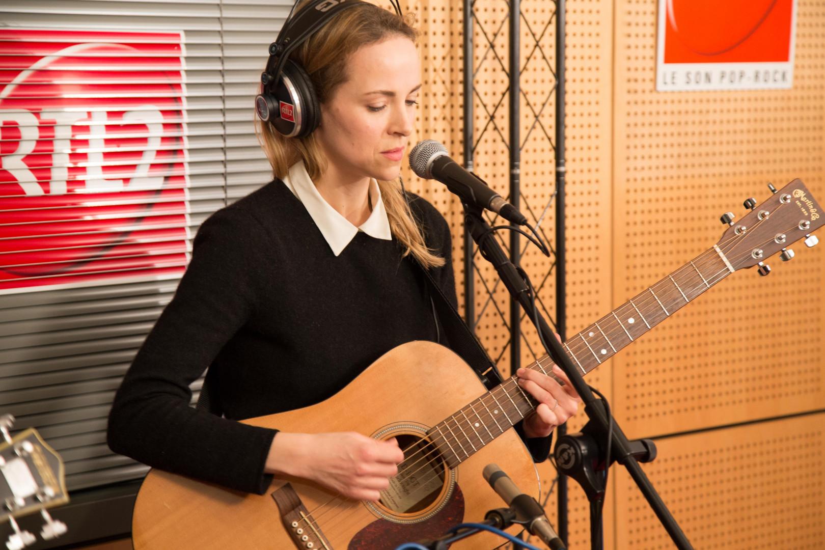 Gemma Hayes en session acoustique pour RTL2