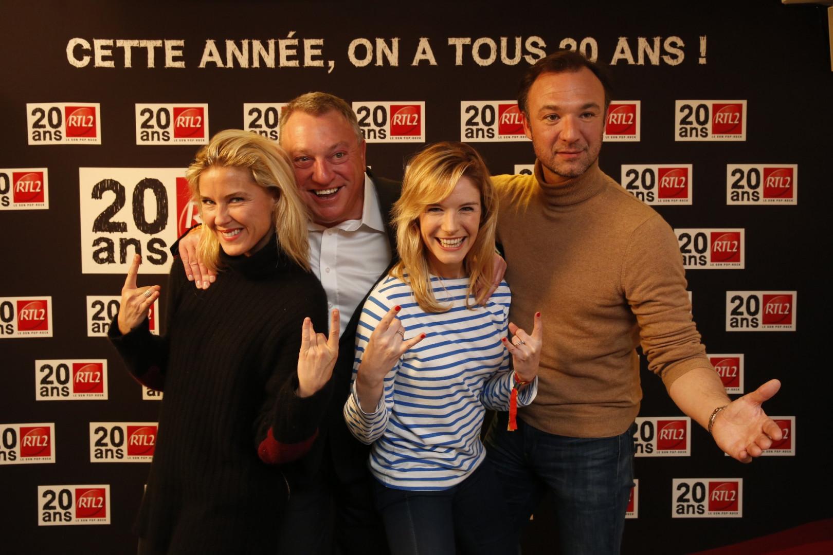 Stéphanie Renouvin, Christophe Nicolas, Louise Ekland et Alexandre Devoise