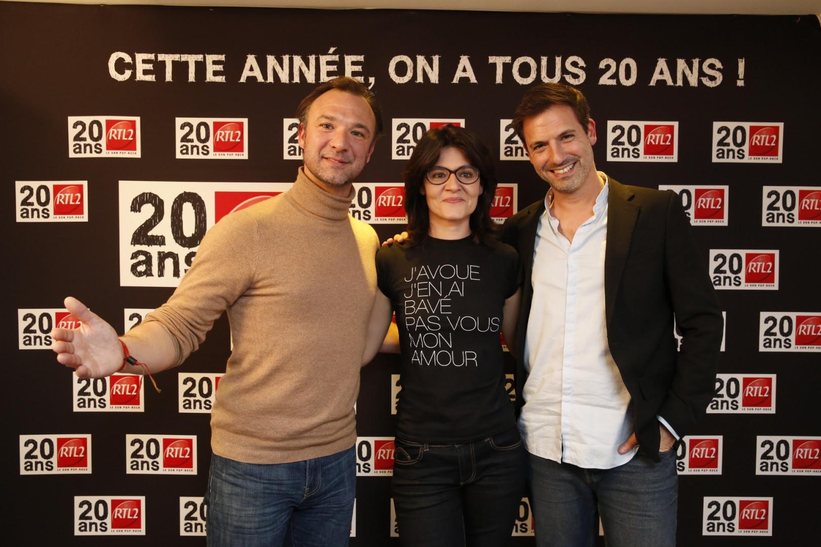 Alexandre Devoise, Carole Vega et Grégory Asher