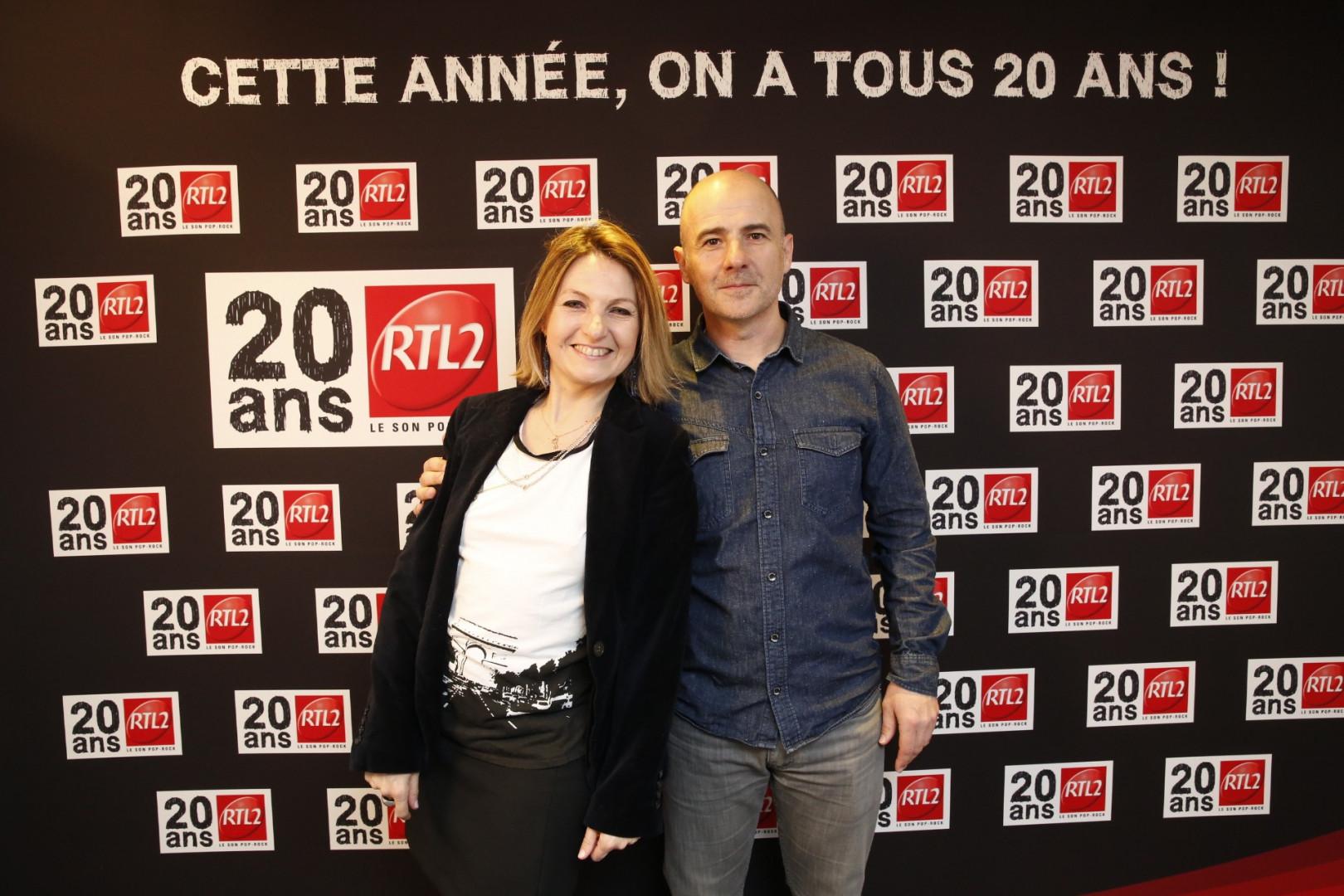 Corinne Versini et Patrick Kuban, les comédiens voix de RTL2