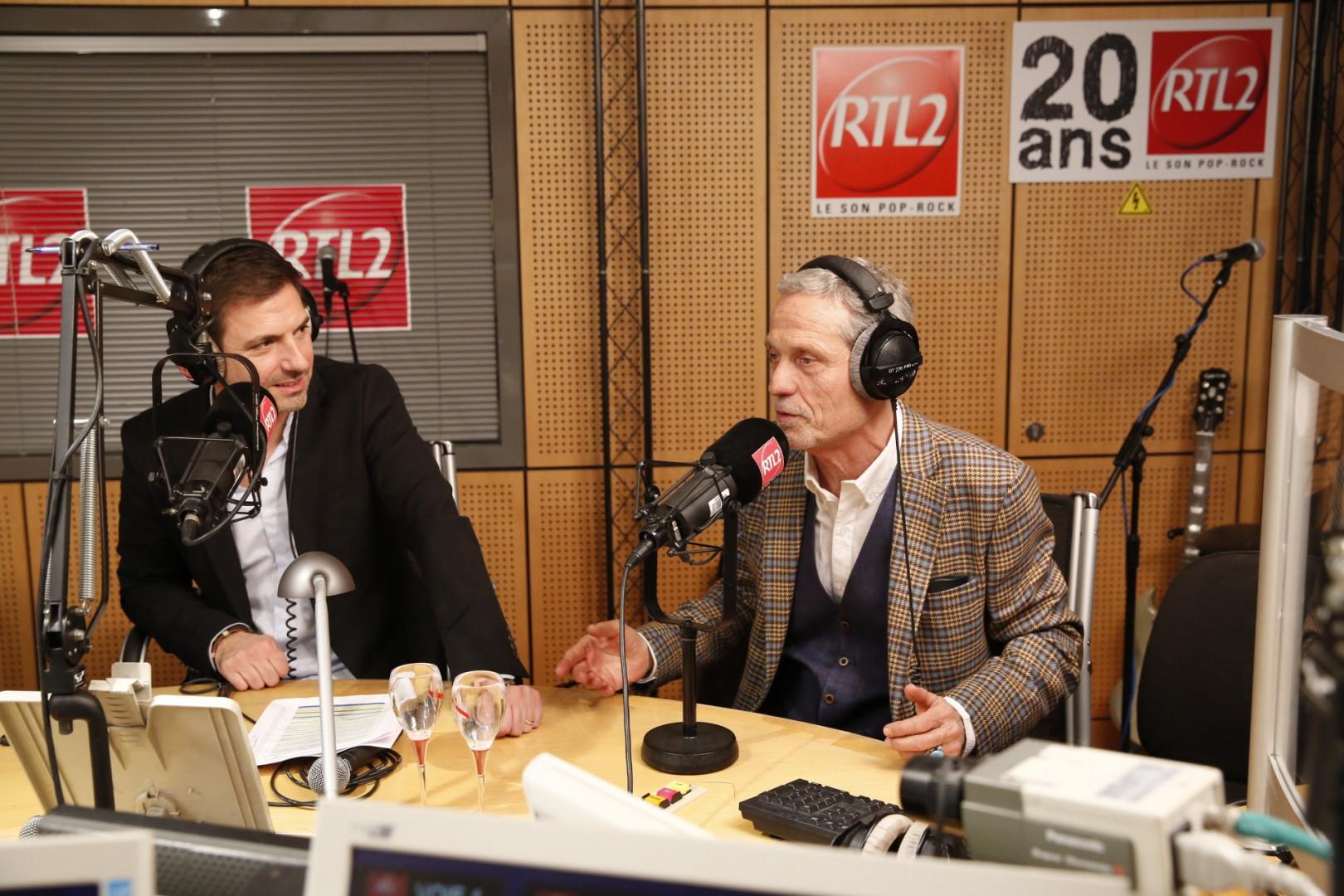 """Grégory Ascher et Dominique """"la voix"""" Duforest"""