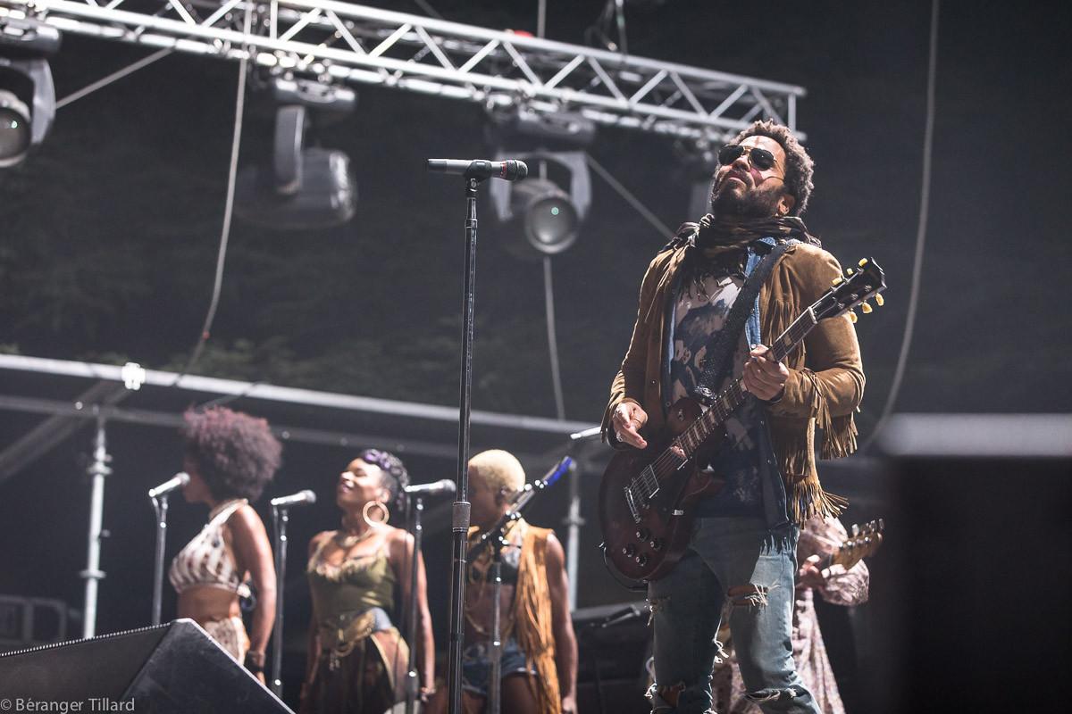 Lenny Kravitz est la tête d'affiche des Déferlantes 2015