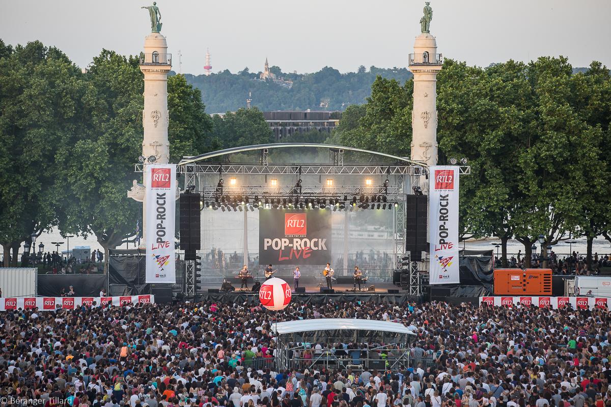 RTL2 Pop-Rock Live - Quinconces