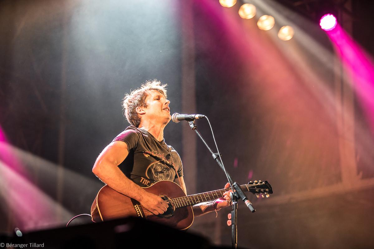 James Blunt au RTL2 Pop-Rock Live