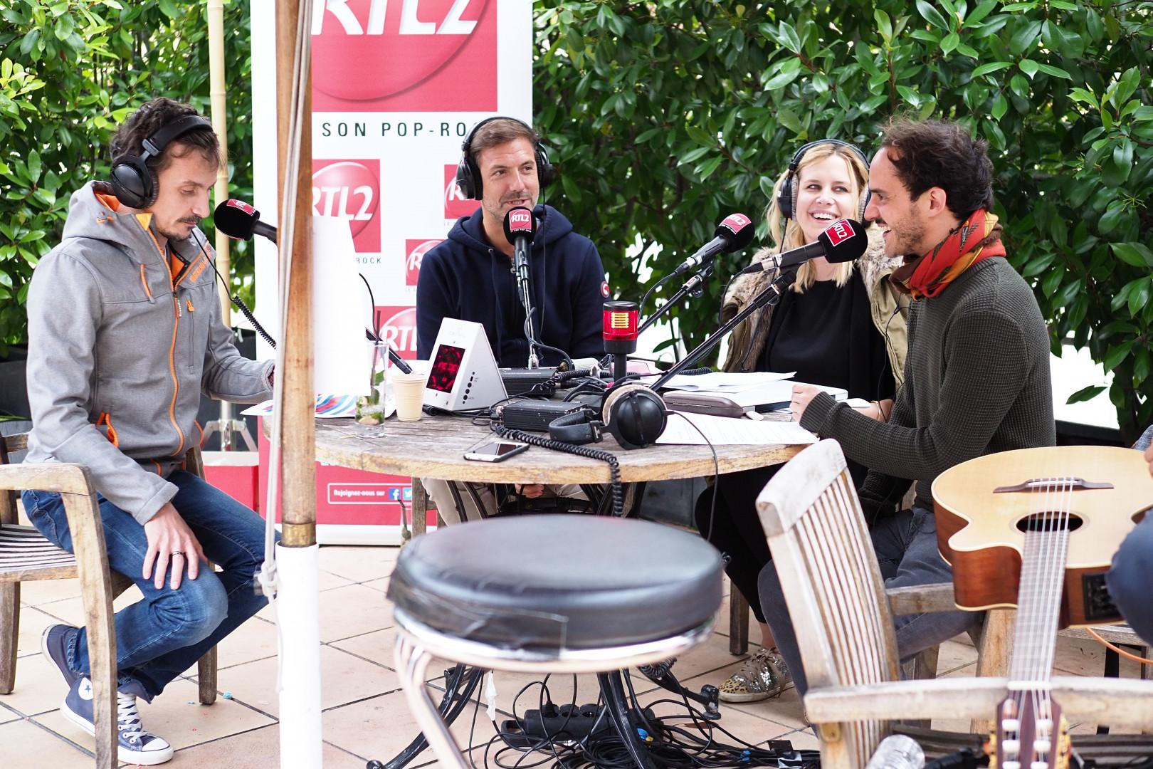 Boulevard des Airs en interview pour la dernière de la saison du Double Expresso
